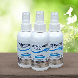 Vetericyn VF + Plus Hydro-Gel 3-pak